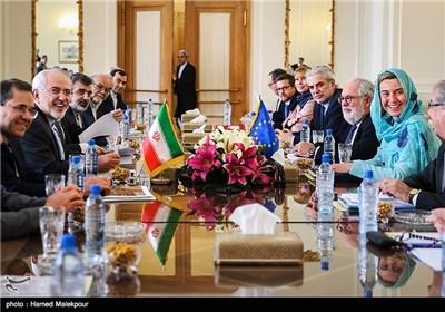 Iran's Zarif, EU's Mogherini Meet in Tehran