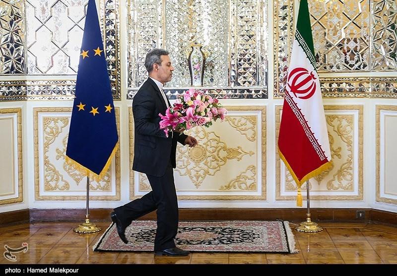 در حاشیه دیدار مسئول سیاست خارجی اتحادیه اروپا با وزیر امور خارجه