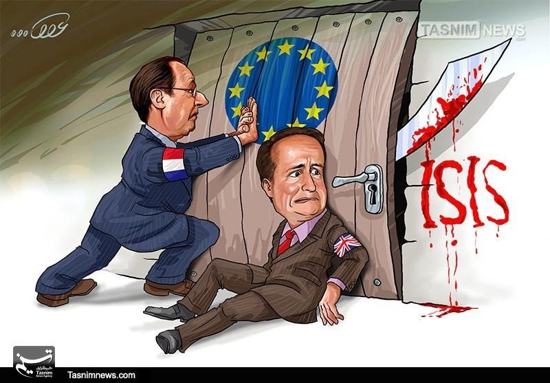 کاریکاتور/ بازگشت تروریسم خانگی به خانه