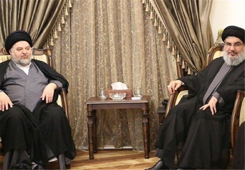 Hezbollah Chief Meets with Aide to Top Iraqi Cleric Sistani