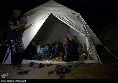 People in Flood-Hit Khuzestan Province in Southwestern Iran