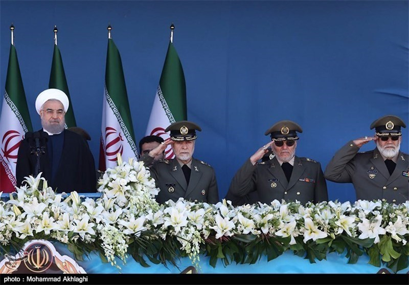 Iran's Diplomacy, Armed Forces Following Same Goal: Rouhani