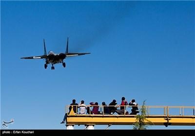 فرود جنگنده میگ 29 در فرودگاه مهرآباد