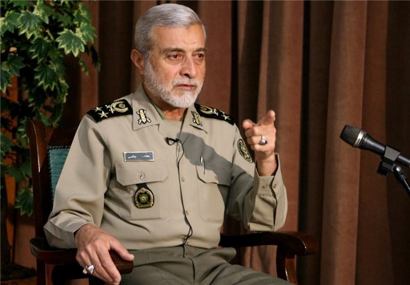 Army Commander Vows Harsh Response to Any Malicious Move at Iran's Borders