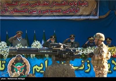 مراسم رژه روز ارتش