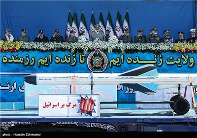 Nationwide Military Parades Held in Iran on National Army Day
