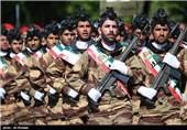 صبحگاه مشترک نیروهای مسلح در استان قزوین برگزار شد