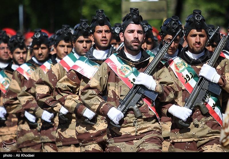 رژه روز ارتش در اصفهان
