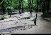 بارش باران و آبگرفتگی در گرگان