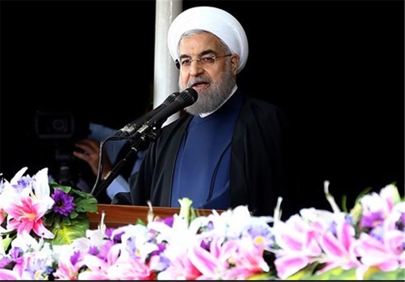"""روحانی: دنبال فاصله با جهان عرب نیستیم/ برخی درون کشور خود """"جنگ شاهزادگان"""" دارند"""