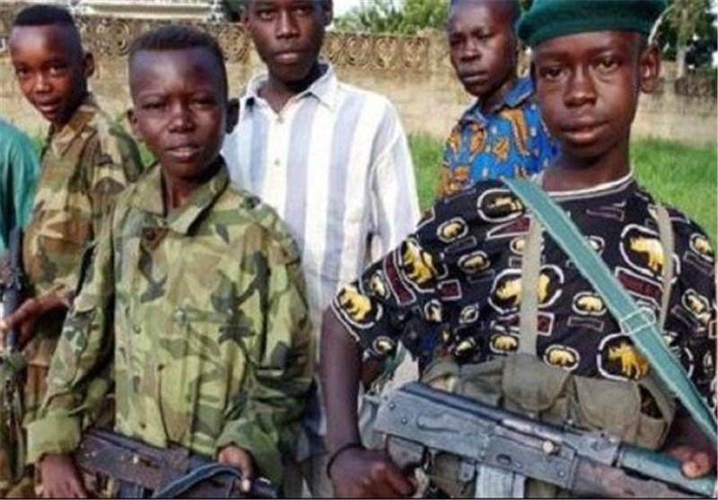 تجنید الاطفال فی افریقیا
