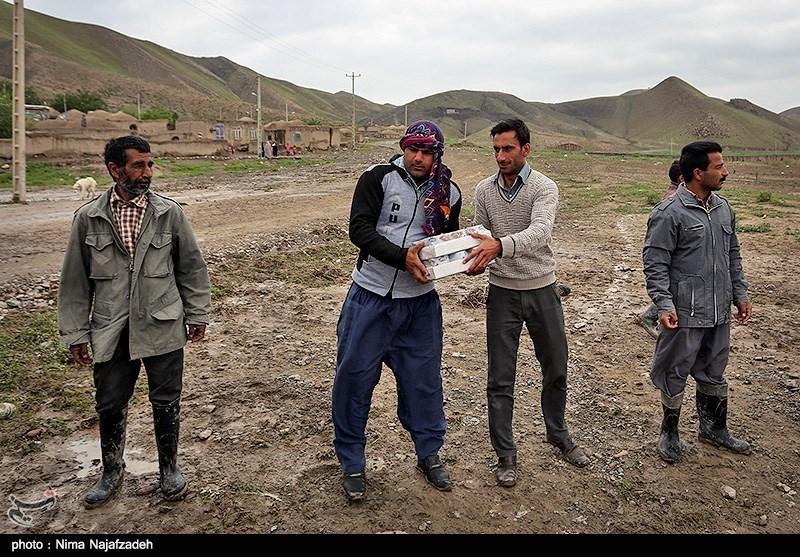 محموله امدادی اتاق اصناف اصفهان به استان گلستان ارسال شد