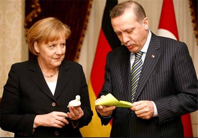 اردوغان مرکل