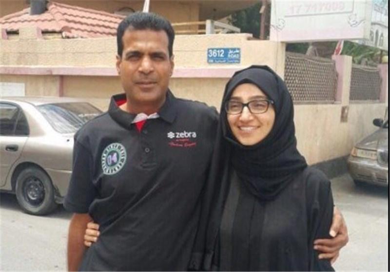 الإفراج عن المعتقلة ریحانة الموسوی بعد 3 سنوات قضتها فی سجنون نظام ال خلیفة