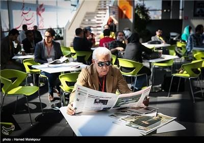محمد زریندست در اولین روز سی و چهارمین جشنواره جهانی فیلم فجر