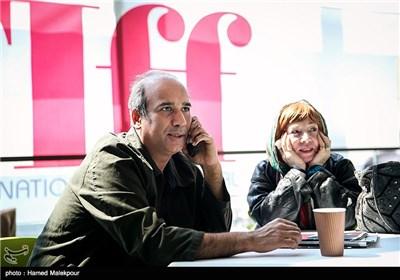 وحید موساییان کارگردان فیلم قشنگ و فرنگ در اولین روز سی و چهارمین جشنواره جهانی فیلم فجر