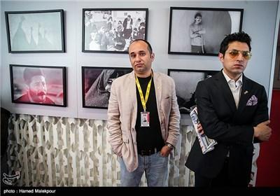اشکان خطیبی و مازیار میری در اولین روز سی و چهارمین جشنواره جهانی فیلم فجر