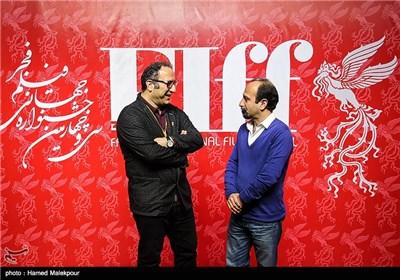 اصغر فرهادی و سیدرضا میرکریمی دبیر سی و چهارمین جشنواره جهانی فیلم فجر