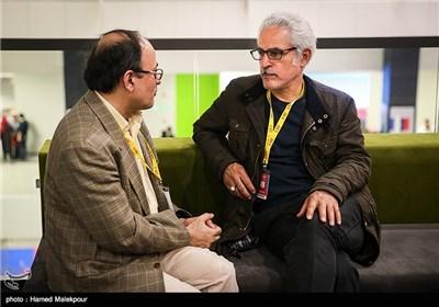مجتبی راعی در دومین روز سی و چهارمین جشنواره جهانی فیلم فجر