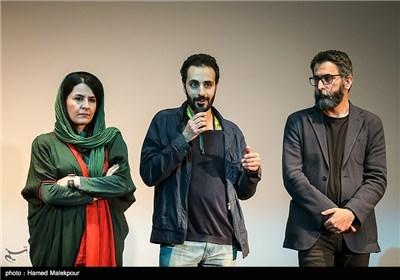 سعید ملکان تهیهکننده و احسان بیگلری کارگردان فیلم برادرم خسرو در سومین روز سی و چهارمین جشنواره جهانی فیلم فجر