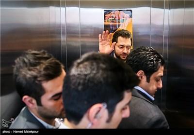 بهرام رادان در سومین روز سی و چهارمین جشنواره جهانی فیلم فجر