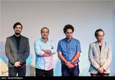 عوامل فیلم اروند در سومین روز سی و چهارمین جشنواره جهانی فیلم فجر