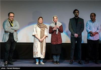 پانتهآ پناهیها، طناز طباطبایی بازیگران فیلم اروند و سیدرضا میرکریمی در سومین روز سی و چهارمین جشنواره جهانی فیلم فجر