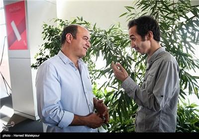 سعید آقاخانی بازیگر فیلم اروند در سومین روز سی و چهارمین جشنواره جهانی فیلم فجر