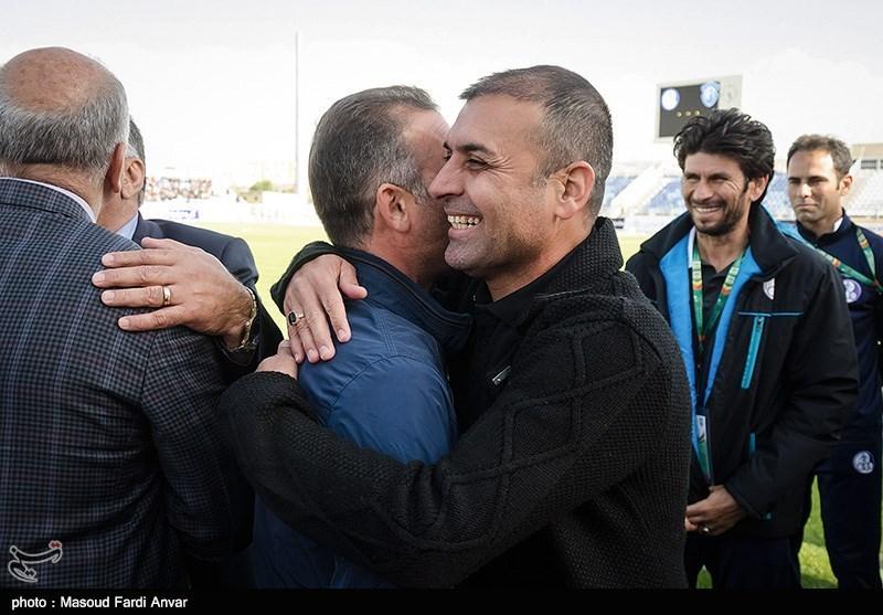 دیدار تیم های فوتبال گسترش فولاد و استقلال خوزستان