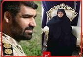 """عاشقانههای همسر شهید مدافع حرم؛ عشق شهید """"شمسه"""" به امام خامنهای کمنظیر بود"""