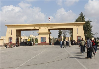 مرز مصر و غزه
