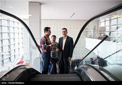 حجتالله ایوبی رئیس سازمان سینمایی در چهارمین روز سی و چهارمین جشنواره جهانی فیلم فجر