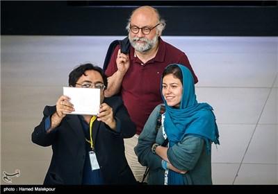 بابک کریمی در پنجمین روز سی و چهارمین جشنواره جهانی فیلم فجر