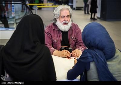 محمد رحمانیان کارگردان فیلم سینما نیمکت در پنجمین روز سی و چهارمین جشنواره جهانی فیلم فجر