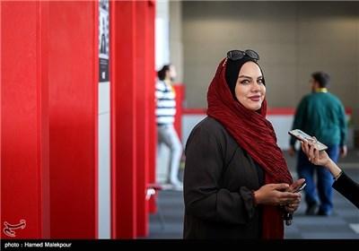 نرگس آبیار در پنجمین روز سی و چهارمین جشنواره جهانی فیلم فجر
