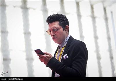 اشکان خطیبی مدیر پردیس سینمایی چارسو و مدیر اجرایی سی و چهارمین جشنواره جهانی فیلم فجر