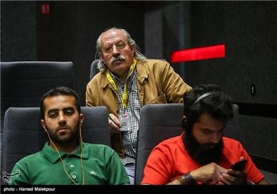 حسن زاهدی صدابردار و صداگذار در پنجمین روز سی و چهارمین جشنواره جهانی فیلم فجر