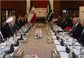 South Africa Can Become Iran's Major Economic Partner: President Rouhani