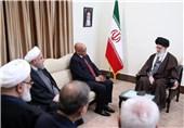رئیسجمهور آفریقای جنوبی با امام خامنهای دیدار کرد