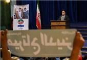 بنرهای ائتلاف اصولگرایان را جمعآوری میکنند/آماده شهادت در راه امام خامنهای هستم