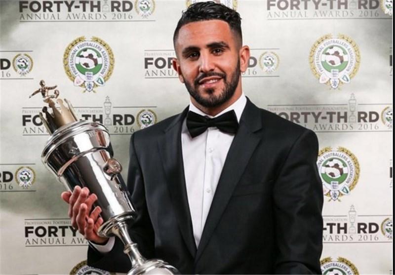 ریاض محرز بازیکن الجزایری بهترین بازیکن فصل 2015-16 لیگ برتر از نگاه اتحادیه فوتبالیست های حرفه ای