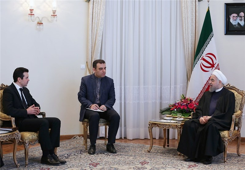 Iranian Firms Ready to Undertake Projects in Macedonia: President