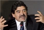 مارادونا: یوونتوس شایسته قهرمانی است اما با خوششانسی اسکودتو را برد