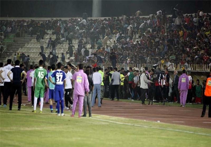 اتفاقات اهواز لنکه ننگی بر چهره فوتبال ایران و مسئولانی که جان مردم برای آنها اهمیت ندارد