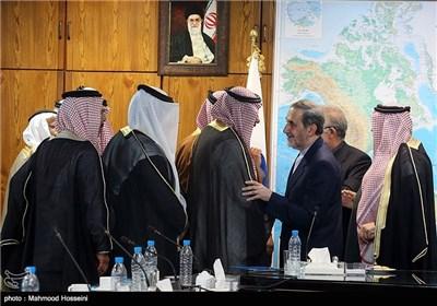 مستشار الإمام الخامنئی یستقبل رؤساء أحزاب وزعماء العشائر السوریة