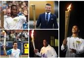 از بکام و محمدعلی تا دروگبا و کروز/ 16 چهره سرشناسی که مشعل المپیک را حمل کردند + تصاویر