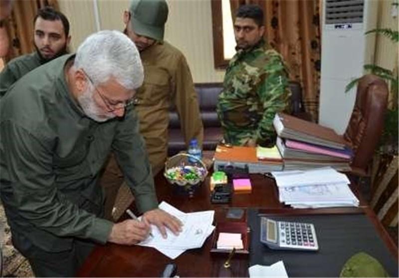یادداشت فرمانده حشد الشعبی عراق برای «نائبالشهید»