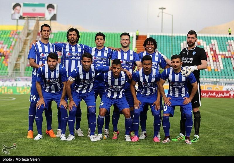 دیدار تیم های فوتبال سپاهان و گسترش فولاد