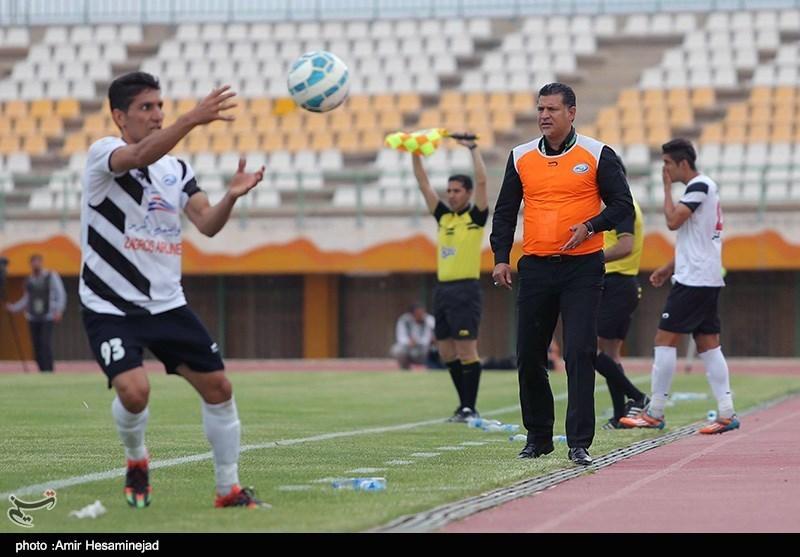 دیدار تیمهای فوتبال صبا و سیاه جامگان - قم