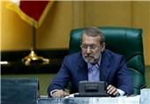 لاریجانی: طرح قلابی معامله قرن نتیجه تفرقه بین کشورهای اسلامی است